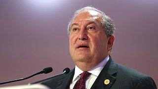 Cumhurbaşkanı Armen Sarkisyan