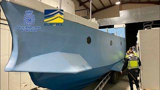 Das sichergestellte U-Boot