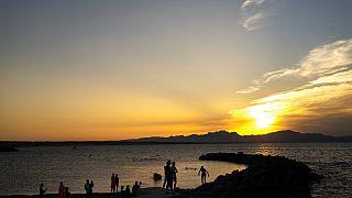Am Strand von Mallorca