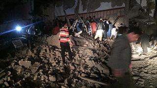 خسارتی که انفجار شدید هرات برجای گذاشته است