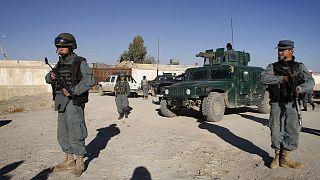 Afgan polisi (arşiv)