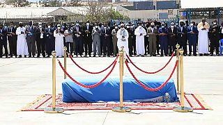 State funeral held for ex-Somali president Ali Mahdi Mohamed