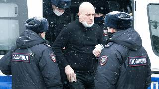 Russian police detain participants at opposition forum in Moscow