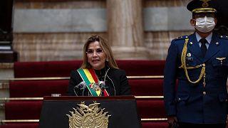 جینین آنز، رئیس جمهوری موقت سابق بولیوی