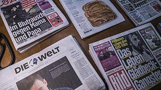 BILD und andere Zeitungen von Axel Springer - ARCHIV