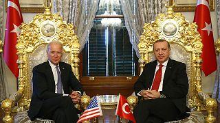 ABD Başkanı Joe Biden, Cumhurbaşkanı Recep Tayyip Erdoğan