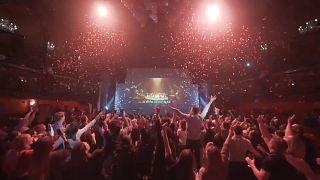 Imagen de un vídeo promocional de The Clapham Grand