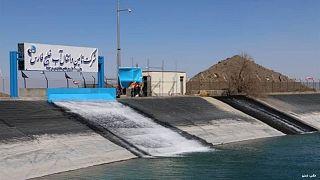 طرح انتقال آب خلیج فارس و دریای عمان به فلات مرکزی ایران