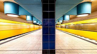 Nauerner Platz U-bahn station, Berlin