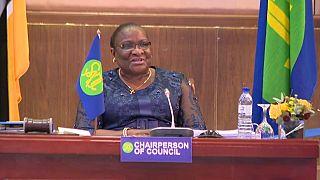 Ministra dos Negócios Estrangeiros de Moçambique, Verónica Dlhovo, preside a conselho de ministros da SADC