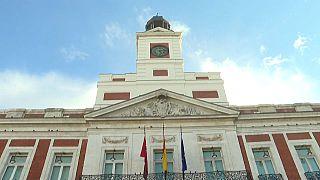 Presidencia de la comunidad de Madrid en la Puerta del Sol