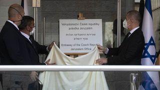 تدشين السفارة التشيكية في القدس قبل ثلاثة أيام من افتتاح سفارة كوسوفو. 2021/03/11
