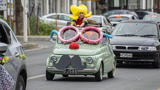 Καρναβαλική αυτοκινητοπομπή στη Λεμεσό