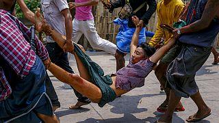 Военное положение в Янгоне