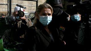 الرئيسة الانتقاليّة السابقة لبوليفيا جانين أنييز