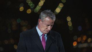 رئيس بلديّة نيويورك بيل دي بلازيو