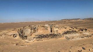 Mısır'da binlerce yıllık manastır keşfedildi