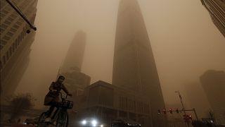 """""""Жёлтый туман"""" в Пекине"""