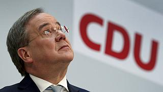 Armin Laschet, président de l'Union chrétienne-démocrate (CDU) le 15 mars 2021.