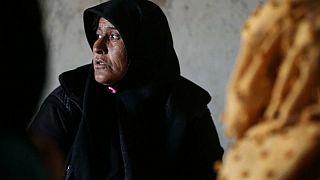Nour Gharib, vedova siriana