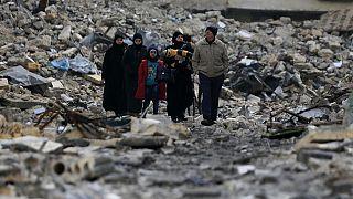 Millionen Menschen mussten vor dem Krieg in Syrien fliehen