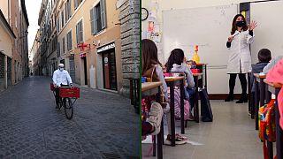 Itália fecha maior parte do país, incluindo escolas; Portugal retoma aulas dos mais pequenos