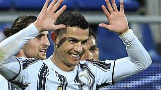 Ronaldo hat trick takes him 'top of the world'