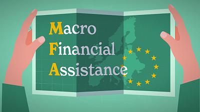What is the EU's Covid-19 Macro-Financial Assistance to neighbouring countries?