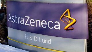 Az AstraZeneca svédországi kutatóközpontjának táblája Lundban 2010. március 2-án