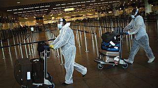 Zaventem international airport in Brussels