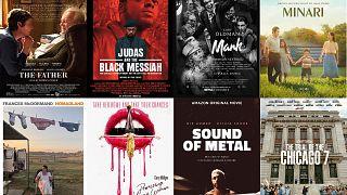 Oscar-jelölt filmek poszterei