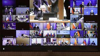 نشست وزرای خارجه و کشور عضو اتحادیه اروپا
