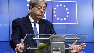 Ο Επίτροπος Οικονομικών Πάολο Τζεντιλόνι