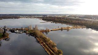 Lebegő holland házak a klímaváltozás ellen