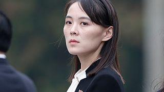 Kuzey Kore Lideri Kim Jong Un'un kızkardeşi Kim Yo Jong