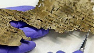 2 bin yıllık Tevrat parşömen parçası