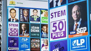 کارزار انتخاباتی در هلند/ لاهه