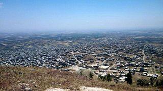 تل الحارة في جنوب غرب محافظة درعا في سوريا.