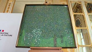 Klimt's Rosebushes Under the Trees at the Museée d'Orsay