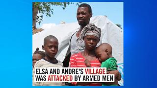 Elsa és Andre falujára fegyveresek támadtak Mozambikban
