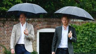 Prens William ile Prens Harry