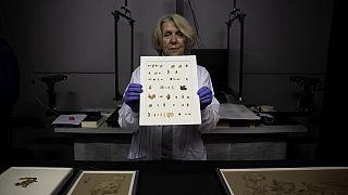 Schriftrolle in Einzelteilen: Rund 2000 Jahre alt, gefunden in Israel
