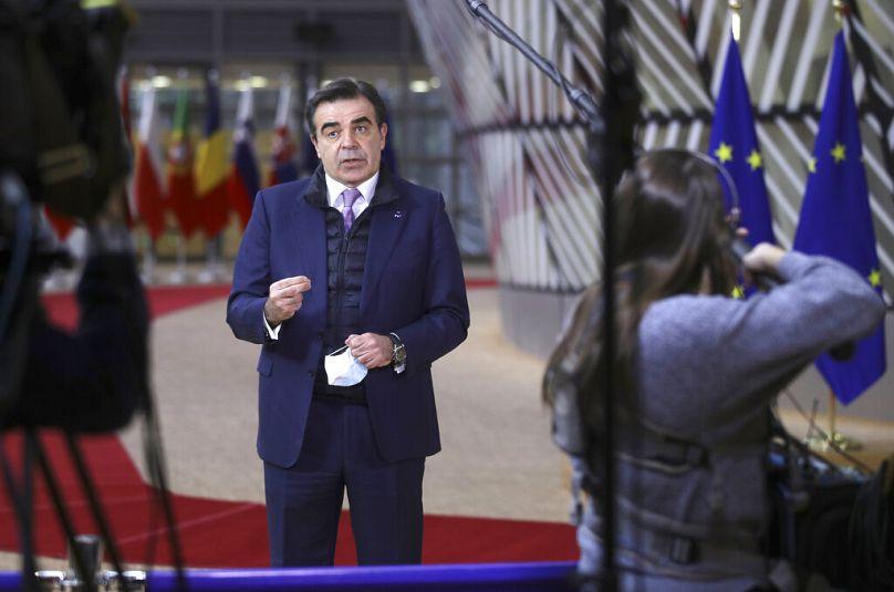 Olivier Hoslet/AP