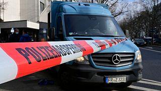 Polizeiabsperrung in Berlin