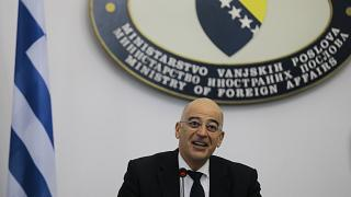 Yunanistan Dışişleri Bakanı Nikos Dendias