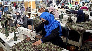 زنان شاغل در وزارت دفاع افغانستان
