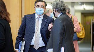 le vice-président de la Commission européenne Margaritis Schinas