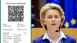 Ursula Von der Leyen will lead the charge on EU's new Green Pass proposal