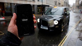 Сервис Uber в Лондоне