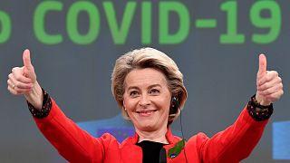 أورسولا فون دير ليين - رئيسة المفوضية الأوروبية - بروكسل بلجيكا